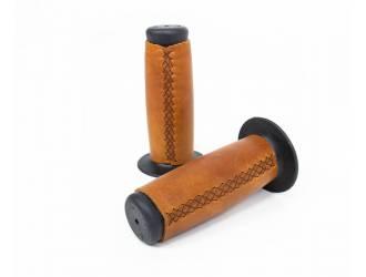 Leather covered handlebar...