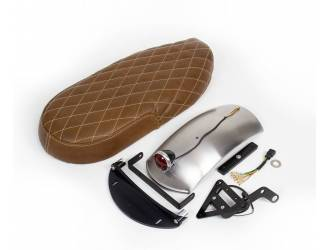 Short leather seat kit for...